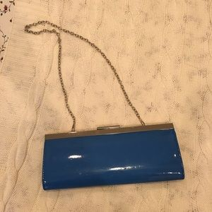 Aldo | electric blue clutch